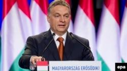 Macarıstanın baş naziri Viktor Orban