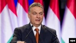 Виктор Орбан, премьер-министр Венгрии.