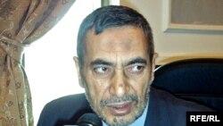 Former Iraqi parliament speaker Mahmud al-Mashhadani