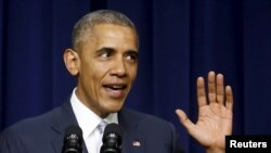 الرئيس الاميركي باراك اوباما، 25 آذار 2015
