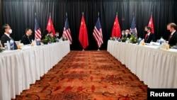 Американо-китайский саммит на Аляске.