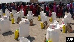 توزیع مواد غذایی برای افراد آسیبپذیر در یمن