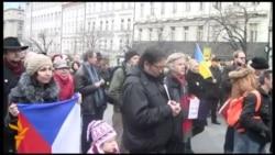 У Празі лунало «За нашу і вашу свободу!»