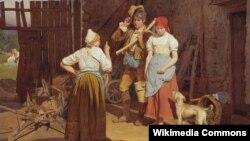 Фэрдынанд Георг Вальдмюлер, «Матчына перасьцярога» (1850)