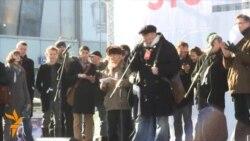 Митинг на Новом Арбате: Ксения Собчак