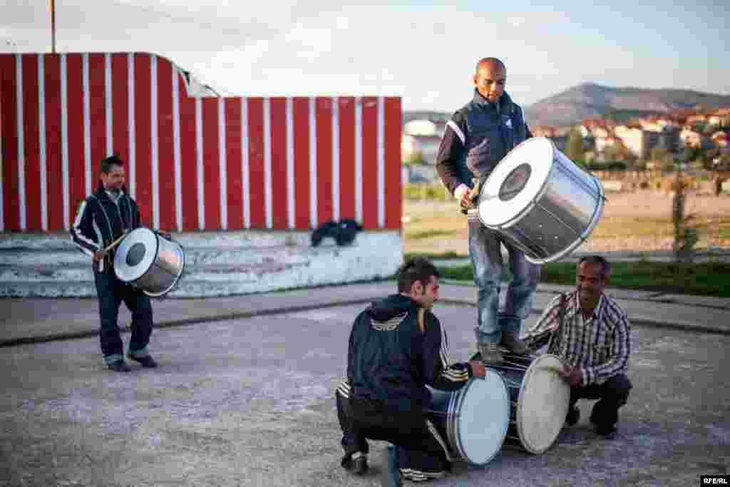 The Drummers Of Macedonia's Semka Band #16