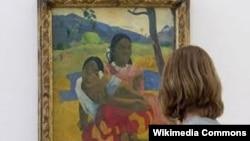 Картина французского художника Поля Гогена «Nafea Faa Ipoipo» (Когда ты выйдешь замуж?).