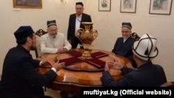 Встреча муфтиев Кыргызстана, Казахстана, Узбекистана и Таджикистана в Бишкеке. 13 сентября 2018 года.