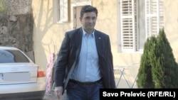 Nebojša Medojević, jedan od čelnika opozicionog Demokratskog fronta