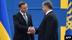 Анджей Дуда і Петро Порошенко