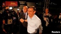 Ramush Haradinaj dhe Kadri Veseli, 11 qershor 2017