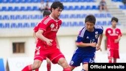 Tajikistan/Azerbaijan, Tajikistan national football team U-16 at Caspi Cup,2June2014