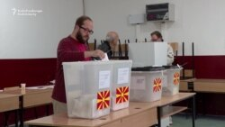 Macedonians Vote In Local Elections