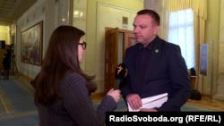 Максим Ткаченко в кулуарах Верховної Ради України