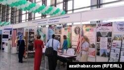 Halkara biznes sergisi, Aşgabat.