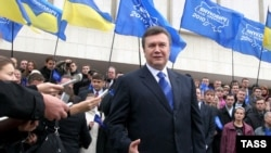 Президент Украины Виктор Янукович.