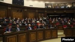 Ermənistan parlamentinin 5 oktyabr iclası