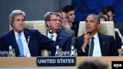 Барак Обама на саммитНАТО в Варшаве