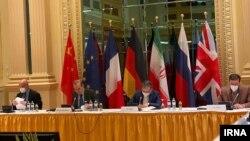نمایی از هیات ایرانی مذاکرهکننده در نشست برجام