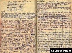 Страницы дневника Нины Луговской