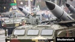 Kiyevdə hərbi parad