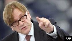 Guy Verhofstadt, un posibil lider al liberalilor europeni