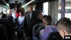 Министерот Диме Спасов испраќа деца од социјални семејства на бесплатен одмор.