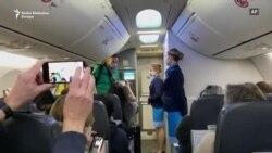 Navaljni pred poletanje iz Berlina