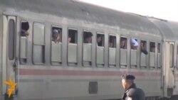 Lansohet treni për transportimin e migrantëve