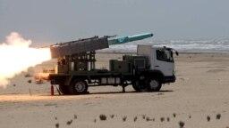 مانور نظامی نیروهای مسلح جمهوری اسلامی در نزدیکی دریای عمان - تیرماه ۱۳۹۹