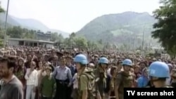 UN-ovi vojnici u Srebrenici, jul 2011.