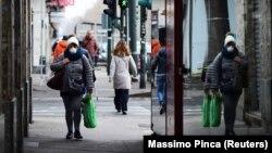 Իտալիա - Թուրինի փողոցներից մեկում, մարտ, 2020թ.