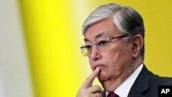 Касым-Жомарт Токаев, президент Казахстана.