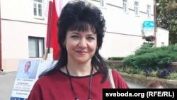Ірына Давідовіч, кандыдатка ад АГП