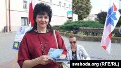 Ірына Давідовіч, кандыдат ад АГП у Іўі