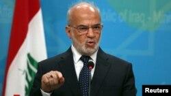 وزير الخارجية ابراهيم الجعفري