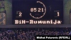 Kvalifikacije za EP: BiH - Rumunija (2:1)