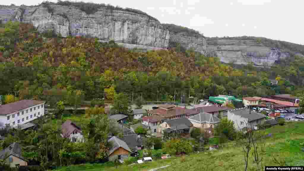 Салачик за радянських часів був селом і мав назву Старосілля. Зараз – це східне передмістя Бахчисарая