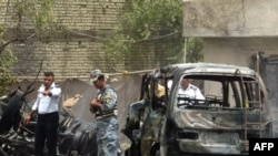 در انفجارهای روز پنجشنبه دهها نفر کشته شدند. (عکس از AFP)