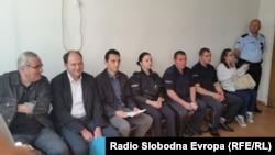 Основен суд Скопје 1, судски процес против Здравко Савески член на партијата Левица поради протести