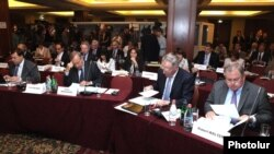 Armenia - The Standing Committee of the Council of Europe's Parliamentary Assembly meets in Yerevan, 31May2013.