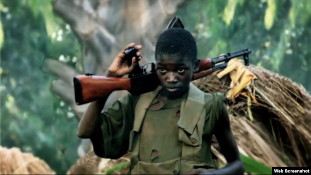 The Kony 2012 campaign has become hugely popular on the web.