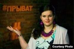 Тэлевядучая і паэтка Валярына Кустава