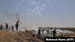 Protestat në Rripin e Gazës