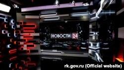 Студия телеканала «Крым 24» в Симферополе