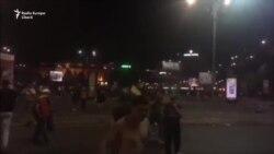 Protestul antiguvernamental din București a fost suprimat violent de jandarmi
