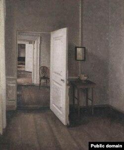 Вільгельм Хамэрсхёй, «Чатыры пакоі» (1914)