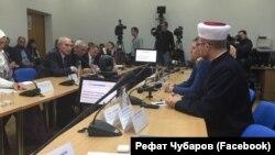 """Киевта """"Кырым ханлыгының ислам мирасы"""" китабын тәкъдим итү"""