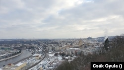 Prágai levél: a havas város képeken