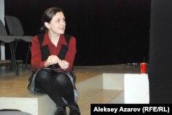 Наташа Дубс, сорежиссер спектакля «Пробуждение весны». Алматы, 26 марта 2015 года.